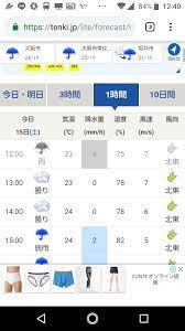 大阪 天気 1 時間