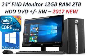2018 newest hp desktop bundle