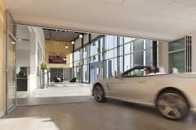 they used a nanawall system for entry exit the large glass doors