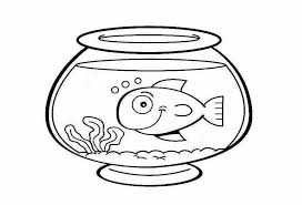 Small Picture Fish bowl coloring pages preschool fish bowl printable fish bowl