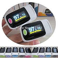 Generic <b>2 pcs finger</b> pulse <b>oximeter</b> SPO2 PR monitor OLED display ...