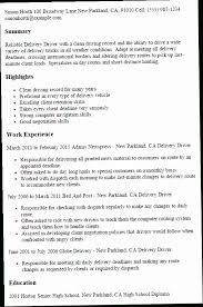 Delivery Driver Resume Gorgeous Delivery Driver Resume Sample 28OZX Professional Delivery Driver