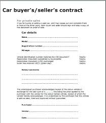 Automobile Sales Agreement Vehicle Sale Agreement Qoopon Co