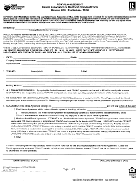 standard rental agreement template free rental agreement form california ichwobbledich com