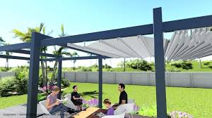 retractable pergola canopy. Canopy Cloth Retractable Pergola Shade Wave Shades Waterproof Clothesline