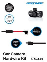 nextbase hard wire kit car dash cam camera 101 112 212 302 312 item specifics