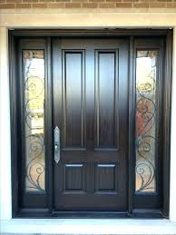 glass front door window coverings side front door window covering solid front door with windows on