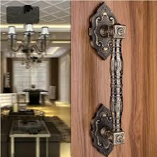 Aliexpresscom Buy 365mm Wooden Glass Door Pulls antique copper