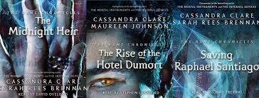 audiobook reviews the midnight heir the rise of the hotel dumort saving raphael santiago