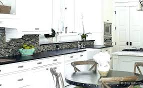kitchen colors with white cabinets and black countertops black and white kitchen ideas photo id item