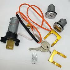 Ignition Switch Cylinder And Door Locks For Gm Vats Vehicles Oem 26033388 Ebay