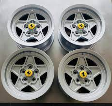 No Reserve 14x7 5 Wheels For Ferrari 308 For Sale On Bat Auctions Sold For 3 500 On February 20 2020 Lot 28 206 Bring A Trailer