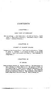 life of adam smith online library of liberty original table of contents or first page