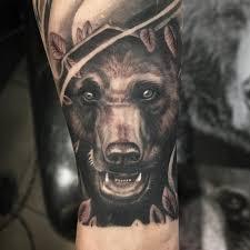 Význam Tetování Medvěd U Mužů U žen V Zóně