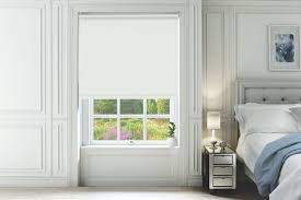 white blackout blinds. Delighful Blackout Natalie Pure White  Blackout Roller Blind Inside Blinds