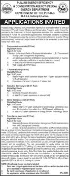 new jobs in energy department government of the punjab  new jobs in energy department government of the punjab 2017