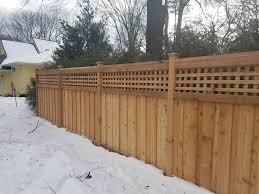 snow fence wood installation