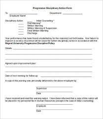 Free Printable Employee Warning Notice - Kleo.beachfix.co