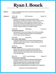Good Cisco Certified Apprentice Carpenter Cover Letter Resume