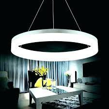 circle chandelier light luxury modern chandelier led