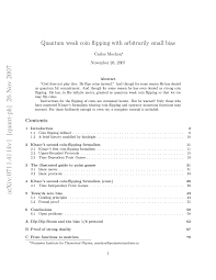 Quirks Of The Arxiv Symmetry Magazine