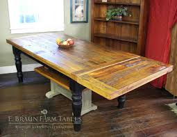 dining table company boards. reclaimed yellow pine farm table with company board extension- e. braun tables and dining boards i