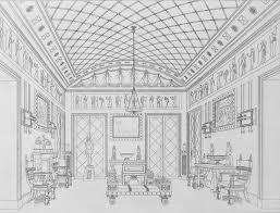 Regency Interior Design Painting Custom Design