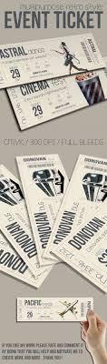 best ideas about ticket event invitation design multipurpose retro ticket