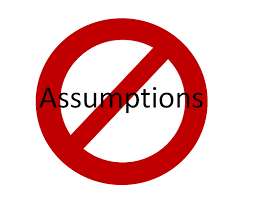 Tracking and Blasting Assumptions - Amber-Allen Publishing