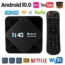 Android Tv Kutusu Android 10 4gb 64gb 32gb 6k 3d Video H.265 Medya Oynatıcı  2.4g 5ghz Wifi Bluetooth Set üstü Kutu Akıllı Tv Kutusu \ alışveriş