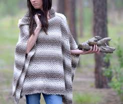 Free Crochet Poncho Patterns Simple Driftwood Oversized Crochet Hooded Poncho Pattern Mama In A Stitch