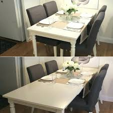 fabulous extendable dining table ideas about on minimalist ikea white round tables