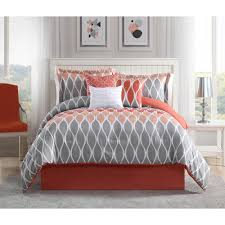 gray and c bedding sets