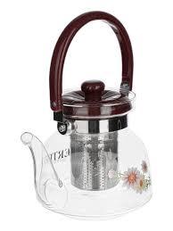 <b>Чайник заварочный стеклянный 850</b> мл. PROMONOVA 13364131 ...