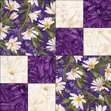 48 best Quilt Kits images on Pinterest | Colors, Cushions and ... & Image detail for -Purple White Daisy Floral Fabric Pre Cut Quilt Block Kit  Simple . Adamdwight.com