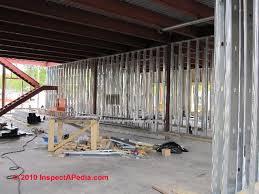 metal studs framing. metal stud framed building under construction freedom plains ny (c) daniel friedman studs framing