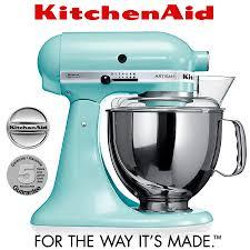 kitchenaid artisan stand mixer 5ksm150ps ice blue