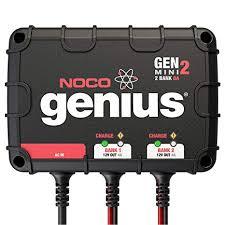 NOCO Genius GENM3 12 Amp 3-Bank On-Board ... - Amazon.com