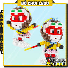 Lego Tôn Ngộ Không - Đồ Chơi Xếp Hình Tôn Ngộ Không Nano Block - Mô Hình  Tôn Ngộ Không Trong Tây Du Ký giá cạnh tranh