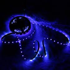 Blacklight Led Rope Light Us 11 1 35 Off Ac100 240v 5m 16 4ft Led Uv Blacklight Strip Light 300 Units Led Beads Rope Lamp For Dance Uv Art Exhibition Stage Lighting In Led