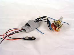 bc rich retro electronics bass booster varitone combination circuit
