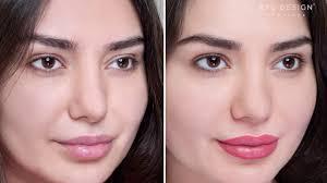 semi permanent lip makeup by nadia afanaseva permanent makeup eye design new york