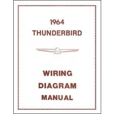 ford thunderbird wiring diagram manual 21 pages 1964 macs auto thunderbird wiring diagram manual 21 pages 1964