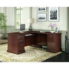 bush office furniture. Bush Office Furniture Business By L Desk In Harvest Cherry .