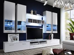 White Gloss Furniture Living Room Modern Storage Furniture For Living Room Display Cabinet Tempered
