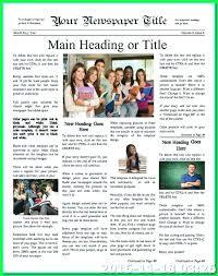 Modern Newsetter Resume Templates Modern Newsletter Template Danieljamessmith Me