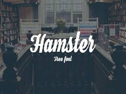 hamster is a freebie cursive font inspired by brush lettering and traditional sign painting perfect for branding identity clothing t shirt design