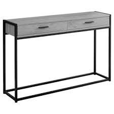 homcom console tables small narrow