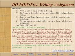 essay to be a slave by julius lester ppt  do now writing assignment