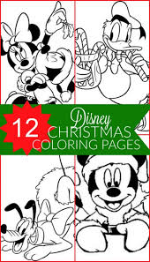 Small Picture Coloring Pages Free Disney Christmas Printable Coloring Pages For